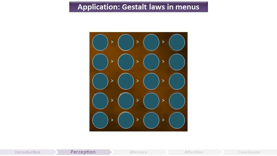 Gestalt Laws in Menus | Video Game UX