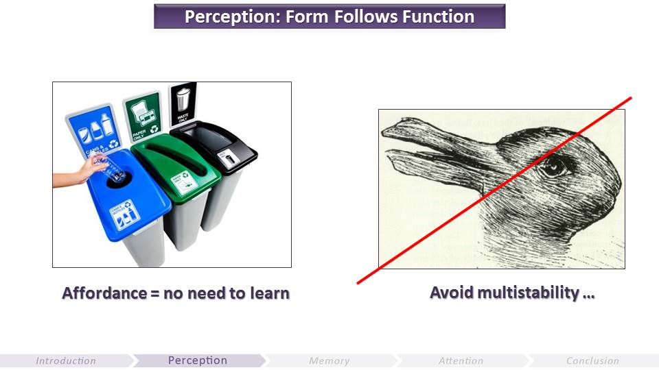 Perception - Form Follows Function | Video Game UX