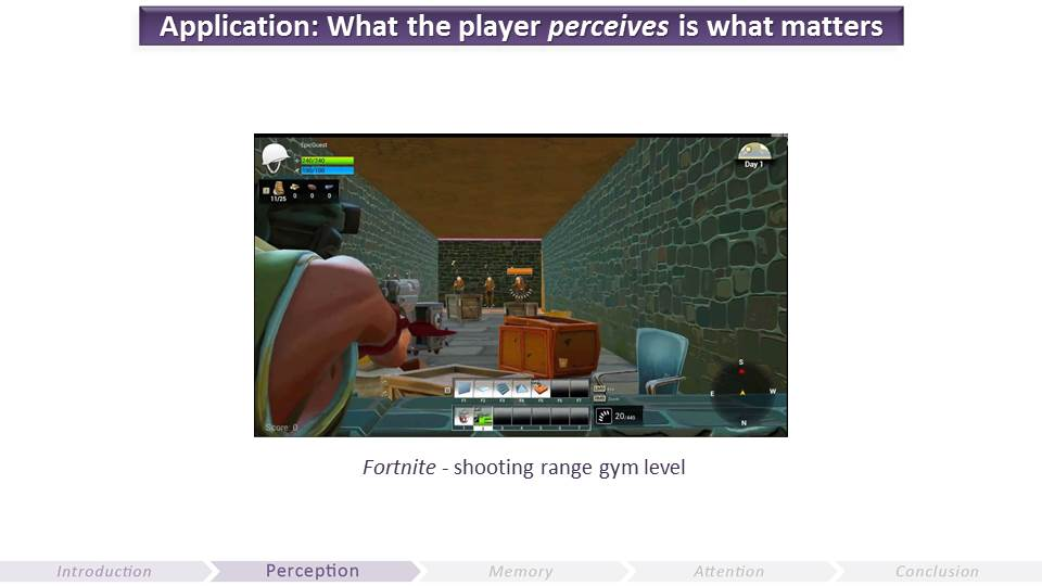 What the Player Perceives and Why it Matters | Video Game UX