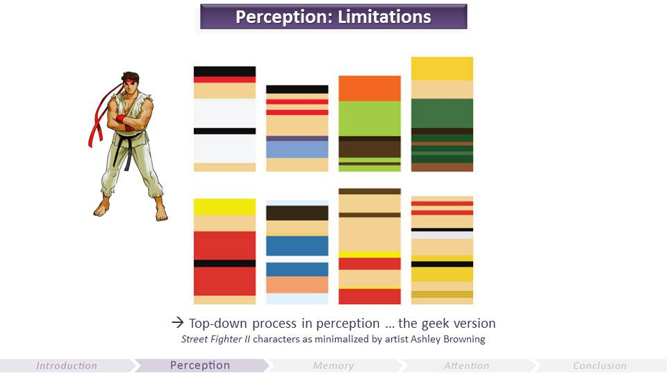 Limitations of Perception | Video Game UX