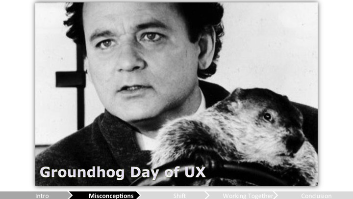Groundhog Day of UX