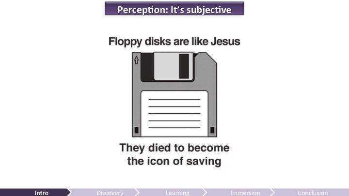 Perception is Subjective