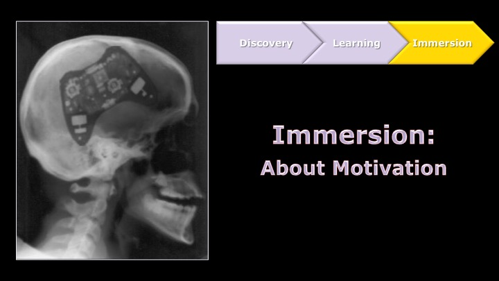 Immersion - About Motivation | Game UX